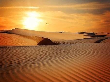 Το μυστηριώδες τραγούδι της ερήμου που αντηχούσε κυρίως όταν έπαιρνε να βραδιάζει