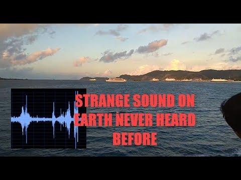 Μυστηριώδης ήχος στα ανοιχτά της θάλασσας (video)