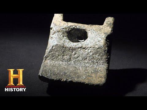 Η σφήνα από αλουμίνιο που βρέθηκε δίπλα σε οστά μαστόδοντα ηλικίας 11.000 χρόνων και προβλημάτισε αρχαιολόγους και ειδικούς